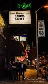 Radios Silent - Live music photography